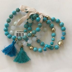 LOFT Set of 4 Bracelets